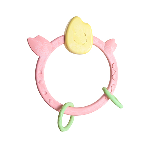 Ngậm nướu bằng gạo Mochi Teething Ring - People KM010