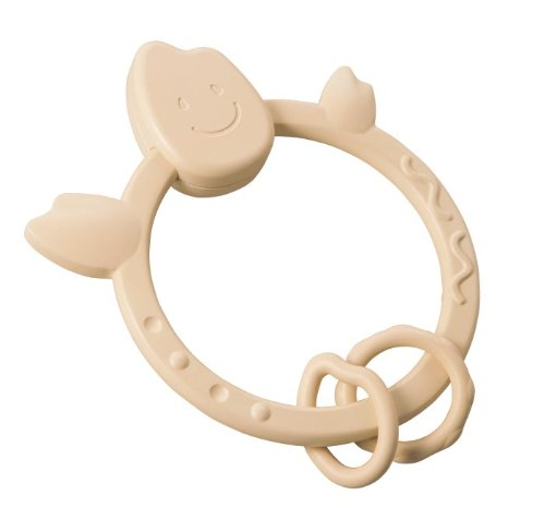 Ngậm nướu bằng gạo Mochi Teething Ring Natural - People KM004